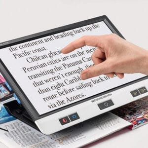 Reading Device for Visually Impaired
